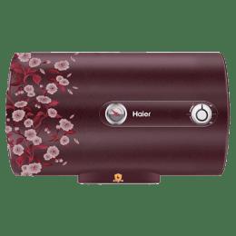 Haier 15 Litres 5 Star Storage Water Geyser (2000 Watts, ES15H, Floral Red)_1