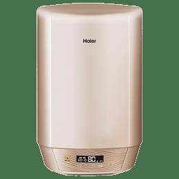 Haier 25 Litres 5 Star Storage Water Geyser (2000 Watts, ES25V-14, Golden Spray)_1
