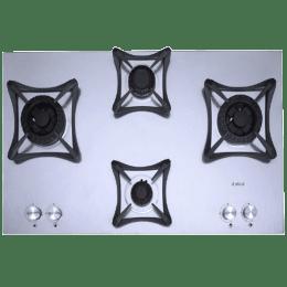 Elica Swirl Inox MFC 70 DX Swirl FFD 4 Burners Gas Hob (Stainless Steel)_1