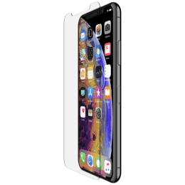 Belkin ScreenForce Tempered Glass Screen Protector for Apple iPhone XS Max (F8W908ec, Transparent)_1