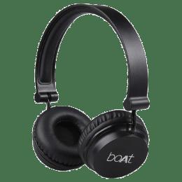 Boat Bluetooth Headphones (Rockerz 410, Black)_1