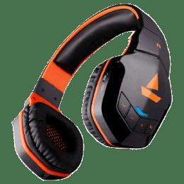 Boat Bluetooth Headphones (Rockerz 518, Orange)_1