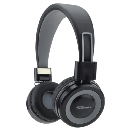 Portronics Muffs G Bluetooth Headphones with Mic (POR 012, Grey)_1