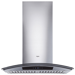 Whirlpool Acti Fresh 1150 m3/hr 60cm Wall Mount Chimney (Capacitive Touch, 6W CGA, Stainless Steel)_1