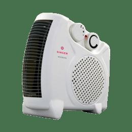 SINGER Heat Blow 2000 Watt Fan Heater (White)_1