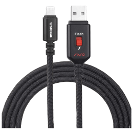 Storme Avo USB 2.0 (Type-A) to USB 2.0 (Type-C) 1.25m Smart USB Cable for iPhone with 32 GB Built-in Pen Drive (SSIP32, Black)_1