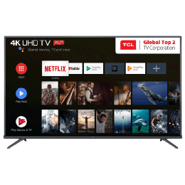 TCL 139.70 cm (55 inch) 4k Ultra HD LED Smart TV (Black, 55P8E)_1