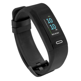 Goqii Run Fitness Tracker (GPS) (Heart Rate Monitor, Black)_1