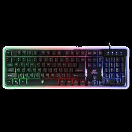 Ant E sports Rainbow Backlighting Wired Gaming Keyboard (MK700, Black)_1