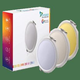 Syska 3-in-1 12 W Smart LED Light (SSKRDLSMW3IN1R12WO, White)_1