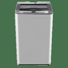 Panasonic 6.2 kg Fully Automatic Top Loading Washing Machine (NA-F62B7MRB, Silver)_1