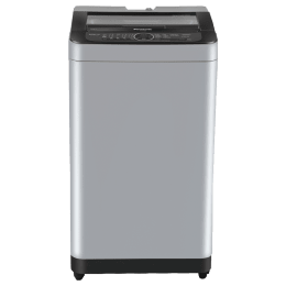Panasonic 6.7 Kg Fully Automatic Top Loading Washing Machine (NA-F67BH8MRB, Middle Free Silver)_1