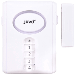 Juvo Wireless Door and Window Alarm (HSB02, White)_1
