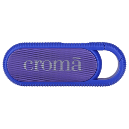 Croma Bluetooth Speaker With Hook (CRER2107, Blue)_1