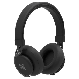 Ant Audio Bluetooth Headphones with Mic (Treble 900, Carbon Black)_1