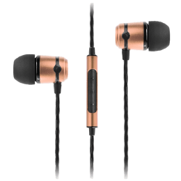 Soundmagic In-Ear Wired Earphones with Mic (E50C, Gold)_1