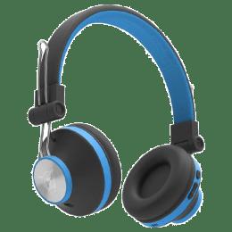 Ant Audio Treble Bluetooth Headphones (H82, Blue)_1