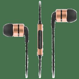 Soundmagic In-Ear Wired Earphones (E80C, Gold)_1
