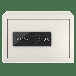 Godrej 8 Litres Safe Digital Locking Systems (NX Pro, Ivory)_1