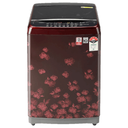 LG 7 kg Fully Automatic Top Loading Washing Machine (ADRQEIL, Red)_1