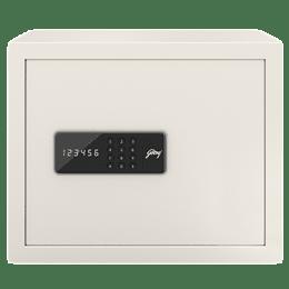 Godrej 30 Litres Safe Digital Locking Systems (NX Pro, Ivory)_1