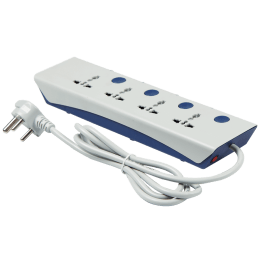 Havells Royalstar 4 Plus 4 Surge and Spike Guard (Grey)_1