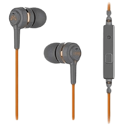 Soundmagic In-Ear Wired Earphones with Mic (ES18S, Orange/Grey)_1