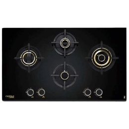 Hafele Zeta 4 Burner Built-in Hob (490, Black)_1