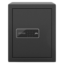 Godrej 40 Litres Safe Digital Locking Systems (NX Pro, Grey)_1