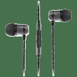 Soundmagic In-Ear Wired Earphones with Mic (E50C, Black)_1