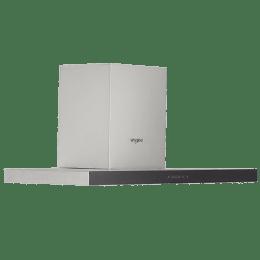 Whirlpool 1000 m3/hr 60cm Wall Mount Chimney (Sensor Touch, AKR6666, Stainless Steel)_1