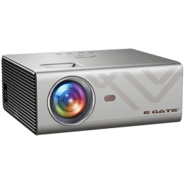 Egate 381 cm Android LED Projector (K9, Silver)_1