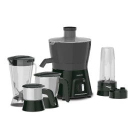 Philips Viva Collection 600 Watts 3 Jars Juicer (Blend and Carry Sipper, HL7580/00, Black)_1