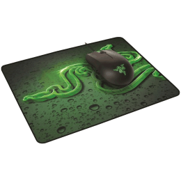 Razer Abyssus And Goliathus 6400 DPI Wired Mouse & Mouse Mat (RZ83-02730100-B3M1, Black)_1