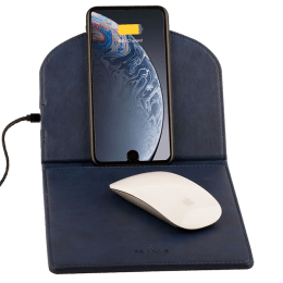 William Pennline Deskmo Wireless Charging Mouse Pad (WP26490, Blue)_1