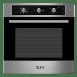Glen 65 Litres Built-in Oven (Works on LPG, GL 663, Silver)_1