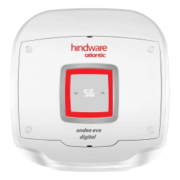 Hindware Atlantic Ondeo Evo Digital 15 Litres 5 Star Storage Water Geyser (2500 Watts, SWH 15A-2D, White)_1