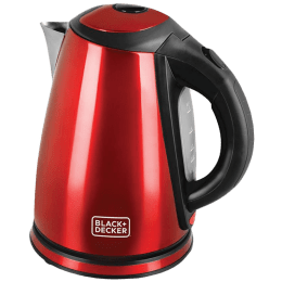 Black & Decker 1.8 Litres 2200 Watts Electric Kettle (Detachable Base, BXKE1801IN, Red)_1