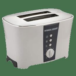 Black & Decker 800 Watt 2 Slice Pop Up Toaster (ET122, White)_1