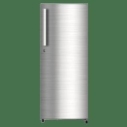 Haier 195 L 5 Star Direct Cool Single Door Refrigerator (HRD-1955CSS-E, Shiny Steel)_1