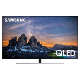 Samsung 138 cm (55 Inch) 4K QLED Smart TV (55Q80RA, Black)_1