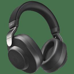 Jabra Bluetooth Headphones (Elite 85h, Titanium Black)_1