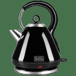 Black & Decker 1.7 Litres 3000 Watts Electric Kettle (Detachable Base, BXKE1704IN, Black)_1