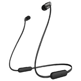 Sony In-Ear Wireless Earphones (WI-C310, Black)_1