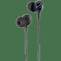 Philips In-Ear Wired Earphones with Mic (Pro6105BK/00, Black)_1