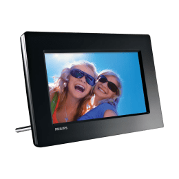 Philips 17.78 cm Digital Photo Frame (SPF1017, Black)_1