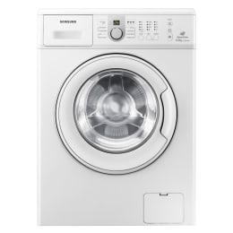 Samsung 6 kg Fully Automatic Front Loading Washing Machine (WF1600NCW, White)_1