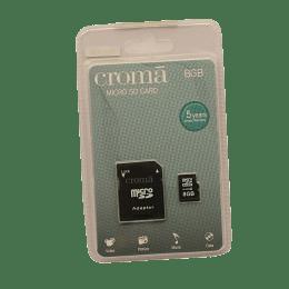 Croma 8GB microSD Memory Card (CRA3100, Black)_1