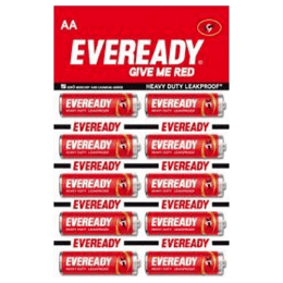 Eveready AA Heavy Duty Carbon Zinc Battery (Red) (Pack of 10)_1