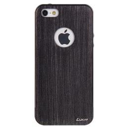 LUXA2 Aluminum Edge Back Case Cover for Apple iPhone 5/5S (LHA0084-F, Titanium)_1